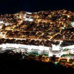 Altstadt von Dubrovnik bei Nacht