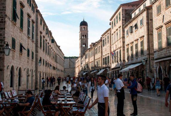 Haupstraße Dubrovnik