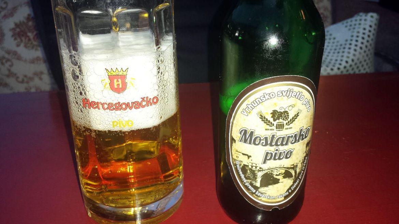 Mostarsko Pivo Bier in Mostar