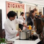 Show Cooking auf der International Gourmet Expo in Livade