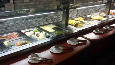 Wurst und Käse Frühstück Hotel Loft