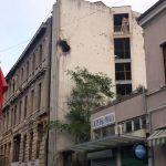 Zerstörtes Hotel in Mostar