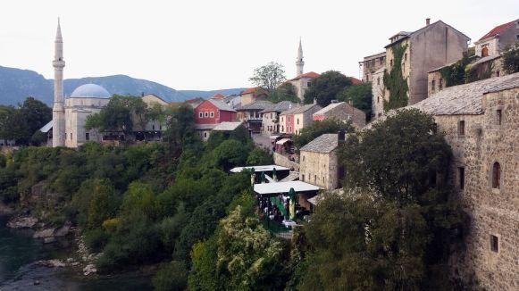 historische, mittelalterliche Altstadt von Mostar (1)