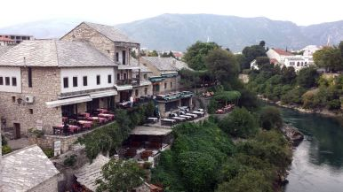 historische, mittelalterliche Altstadt von Mostar (2)