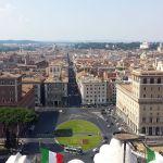 Ausblick vom Nationalmonument Rom