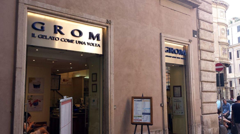 Gelateria Grom, Via della Maddalena