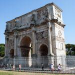 Konstantinsbogen, Rom