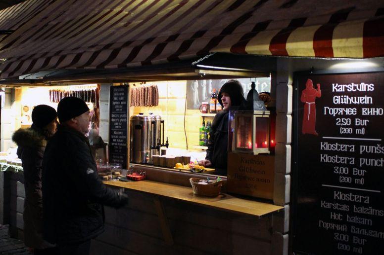 Glühwein in Riga