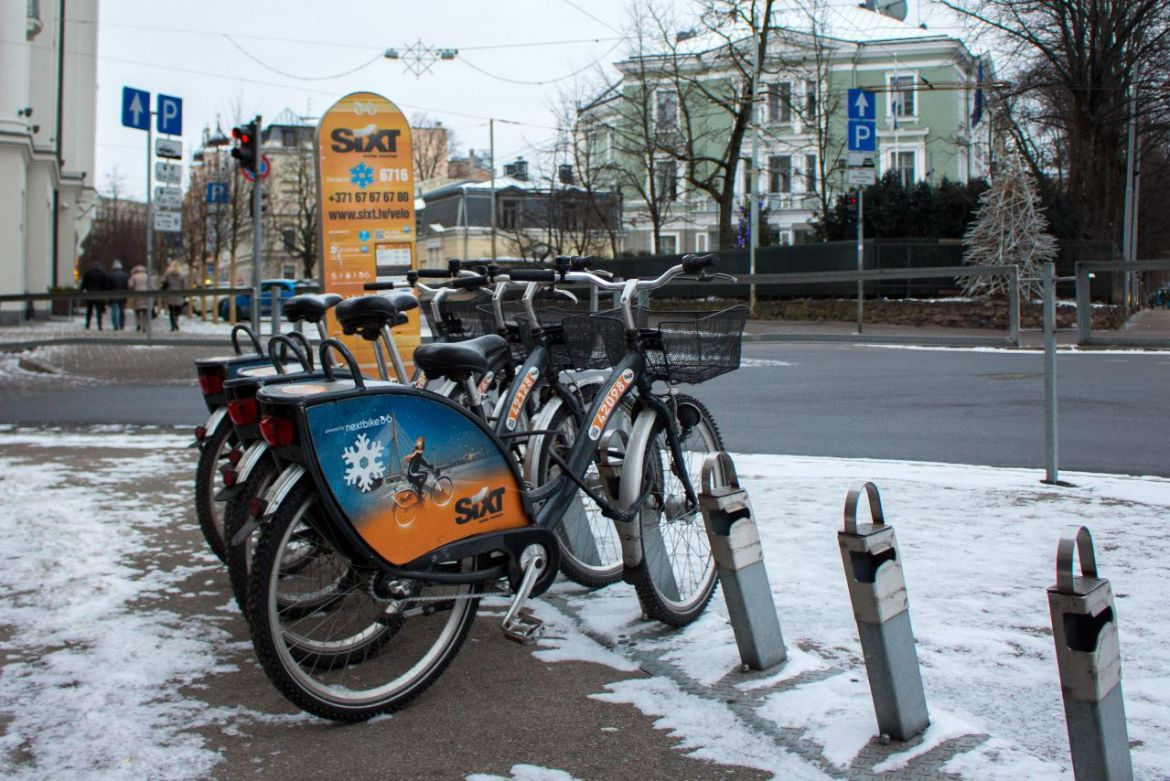 Rent a bike Sixt Riga