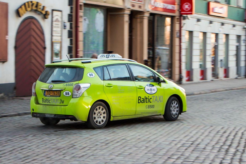 Taxi in Riga