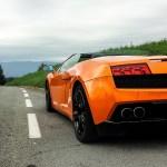 Lamborghini Gallardo LP 560-4 Spyder Heck