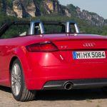 Audi TT 2.0 TFSI quattro Cabrio Heckansicht