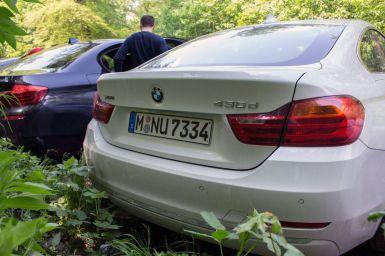 BMW 430d xDrive Gran Coupé Heckansicht