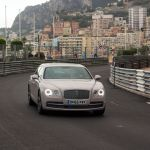Bentley auf der Rennstrecke in Monaco