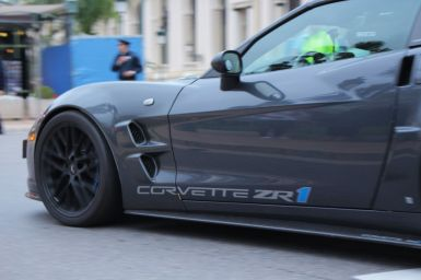 Corvette ZR1 in Monaco