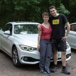 Maik & Maria mit BMW 435d