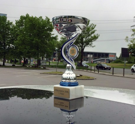 OTRARallye2016 Sieger Pokal