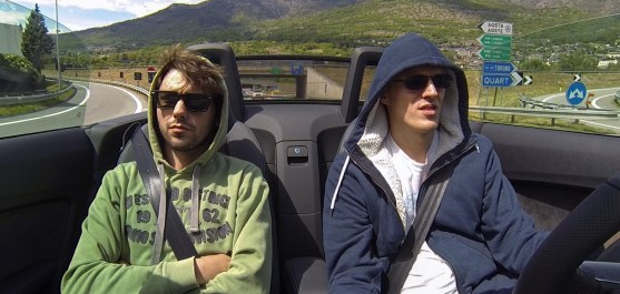 Orgas im TT Cabrio in Italien