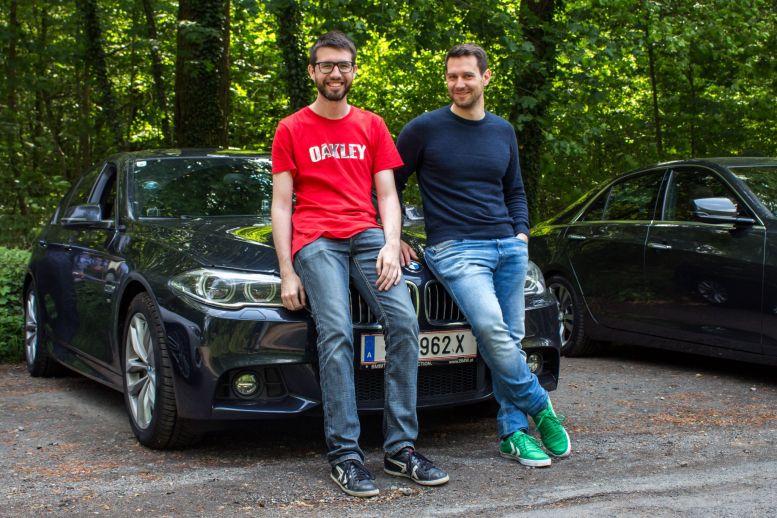 Team Dolce Vita - Daniel & Boris mit BMW 530d xDrive