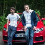 Team Orga – Robert & William mit Audi TT 2.0 TFSI Cabrio