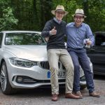 Team Strohhut – Uwe & Thomas mit BMW 430d