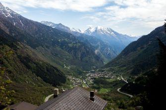 Typisches Alpental
