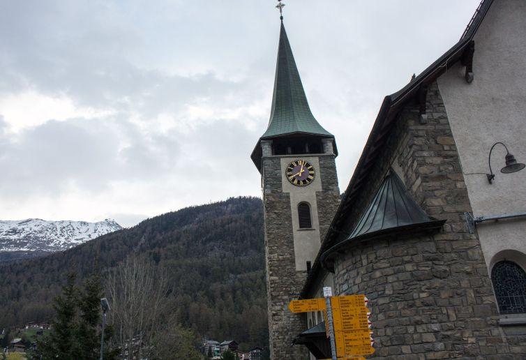 Pfarrkirche St. Mauritius Zermatt