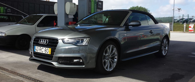 Audi A5 S-Line Cabrio