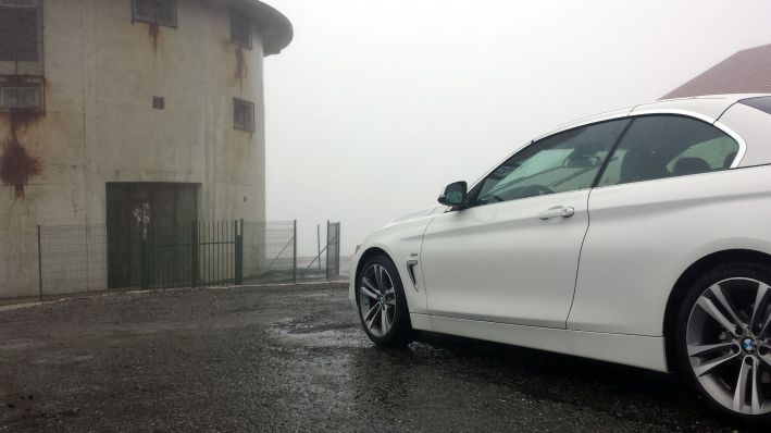 BMW 4er Cabrio am Torre