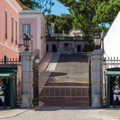 Eingang zum Palácio Nacional de Belém