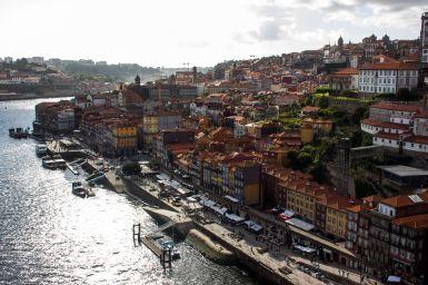 Porto Promenade von der Ponte Luís I