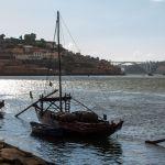 Portweinboot auf dem Douro