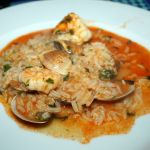 Seafood Rice in der Marisqueira M, Lissabon