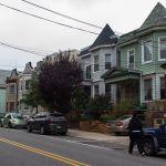 Typische Häuser in West New York