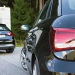 Audi S1 und S3 am Hahntenjoch