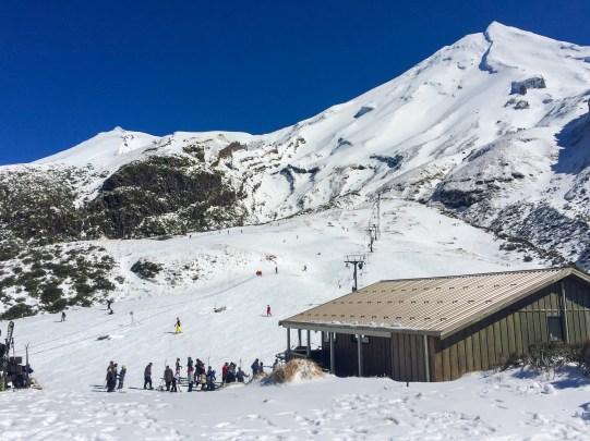 Skigebiet Mount Taranaki