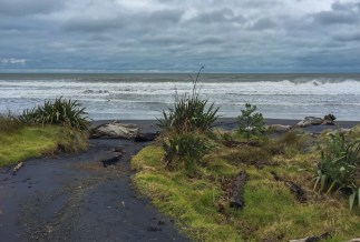 Vulkanstrand Neuseeland