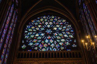 Grosses Fenster Saint Chapelle