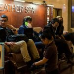 Leather Spa im Grand Central Terminal