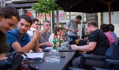 Abendessen Brüssel