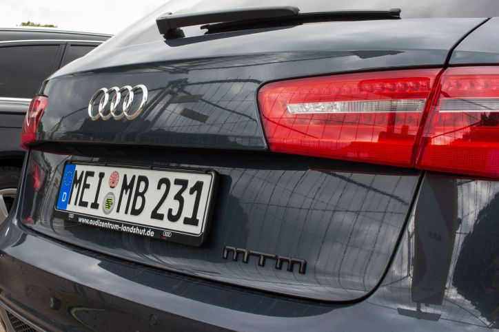 MTM Audi Heck
