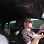 Micha und Moritz auf der Autobahn