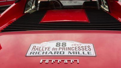 Ferrari bei der Rallye de Princesses