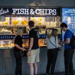 Fish und Chips in London