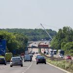 Linksverkehr in England auf der Autobahn