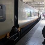 Uwe am Eurostar