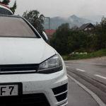 VW Golf R in Slowenien