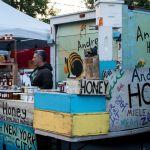 Andrew's Honey auf dem Union Square Market New York City