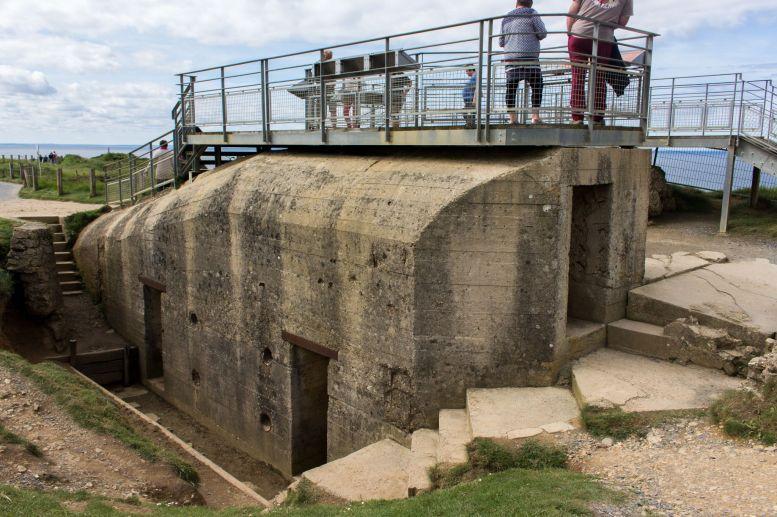 Bunkereingang am Pointe du Hoc