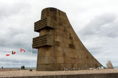 D-Day Monument am Omaha Beach